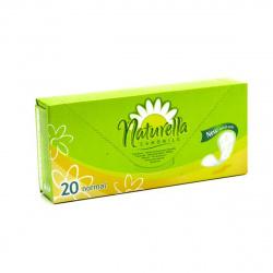 NATURELLA Женские гигиенические прокладки на каждый день Camomile Normal Single 20шт ПрепКороб 83735827