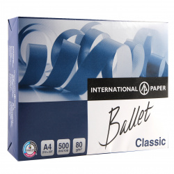 Бумага Ballet Classic  А4 80г/м 500л.