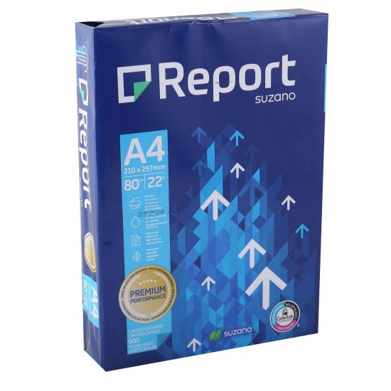 Бумага REPORT PREMIUM А4, 80г/кв.м., 500л, класс бумаги B+, белизна CIE 160% 3757