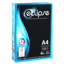 Бумага ECLIPSE А4, 80г/кв.м., 500л, класс бумаги B+, белизна CIE 160%