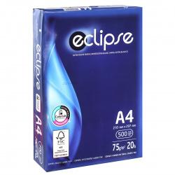 Бумага ECLIPSE А4, 75г/кв.м., 500л, класс бумаги B+, белизна CIE 160%