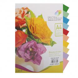 Бумага цветная А4 80г/м2 250л 10 цветов Spectra Color № 859