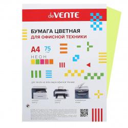 Бумага цветная А4 80г/м2 20л deVENTE 2072933 неон зеленый