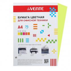 Бумага цветная А4 80г/м2 50л deVENTE 2072939 неон зеленый