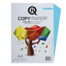 Бумага цветная А4, 80г/кв.м., 50л, интенсив, океан Rcopy