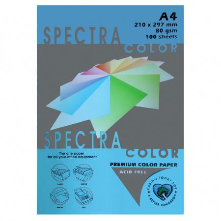 Бумага цветная А4 80г/м2 100л Spectra Color №220 бирюзовый
