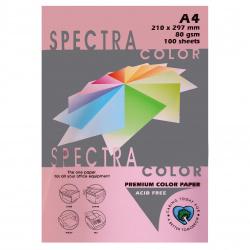 Бумага цветная А4 80г/м2 100л Spectra Color №170 светло-розовый