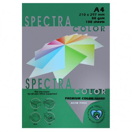 Бумага цветная А4 80г/м2 100л Spectra Color №411/42402/40411 спаржа