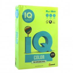Бумага цветная А4, 80г/кв.м., 500л, неон, зеленый неон Mondi 00-00012629
