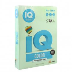 Бумага цветная А4, 80г/кв.м., 500л, пастель, зеленый IQ Color Mondi 00-00012625