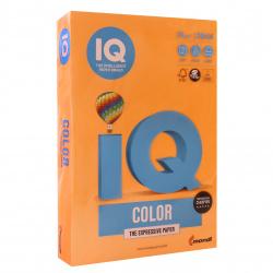 Бумага цветная А4, 80г/кв.м., 500л, неон, оранжевый неон Mondi 00-00012633