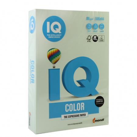 Бумага цветная А4 80г/м 500л IQ Color 00-00000657/65134 27 св зел