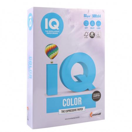 Бумага цветная А4 80г/м 500л IQ Color 00-00012594 12 бледно-лиловый