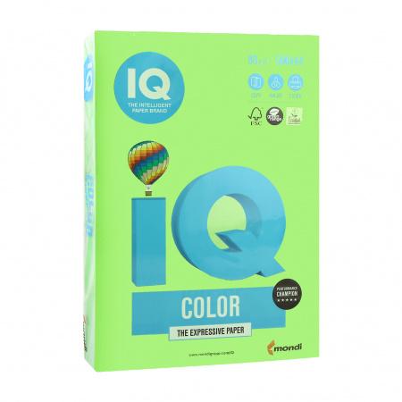Бумага цветная А4 80г/м 500л IQ Color 00-00012623 42 ярко-зел