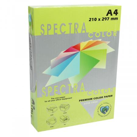 Бумага цветная А4 80г/м2 500л Spectra Color №321 зеленый