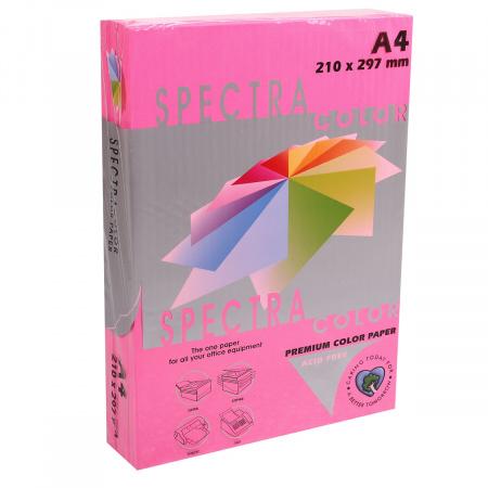 Бумага цветная А4 80г/м2 500л Spectra Color №350 малиновый