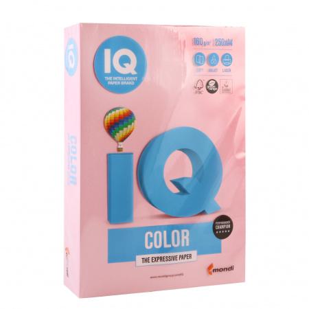 Бумага цветная А4 160г/м 250л IQ Color 00-00000566/65166 25 роз
