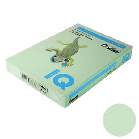 Бумага цветная А3, 160г/кв.м., 250л, пастель, зеленый IQ Color Mondi 00-00000577