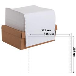 Бумага перфорированная белизна 100% 1-слойная 375*12 2000л 610м для ЛПУ Promega 8419