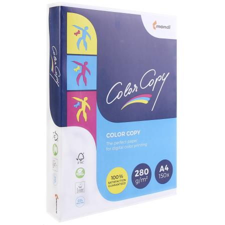 Бумага Mondi Color Copy  А4, 280г/кв.м., 150, белизна CIE 160%, цвет белый 00-00012641