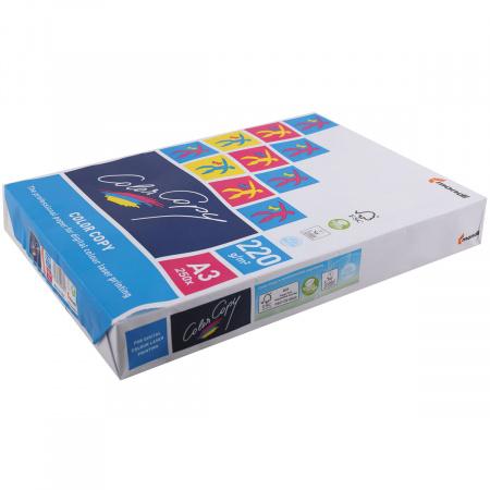 Бумага Mondi Color Copy  А3, 220г/кв.м., 250л, белизна CIE 160%, цвет белый