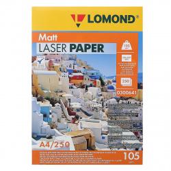 Бумага Lomond Ultra CLC Paper  А4, 105г/кв.м., 250л, белизна CIE 91%, матовая, двусторонняя, цвет белый 0300641