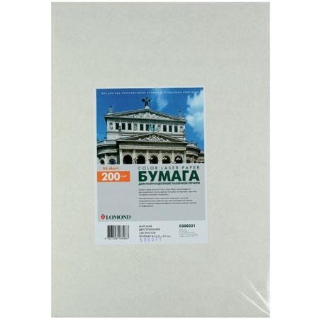 Бумага Lomond А3 Ultra CLC Paper, мат.двусторонняя 200г/м 250л. 0300331