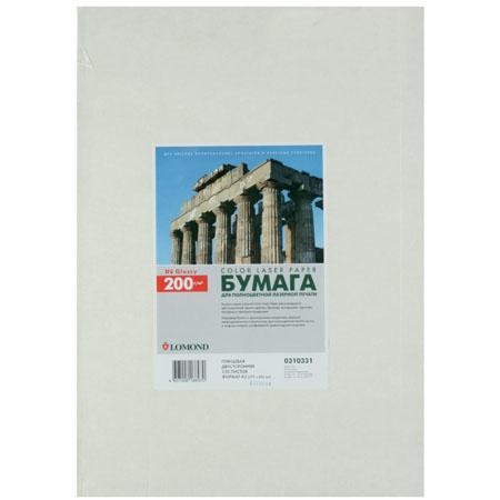 Бумага Lomond А3 Glossy DS CLC Paper, глянцевая двустор. 200г/м 250л. 0310331