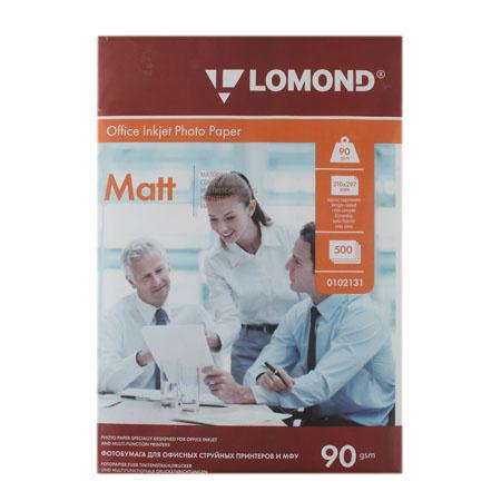 Фотобумага Lomond Ink Jet 090/A4/500 мат.одн. 0102131