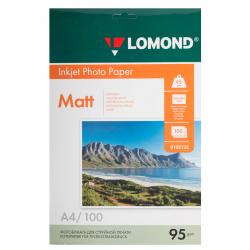 Фотобумага Lomond Ink Jet 95/A4/100 мат.одн. 0102125