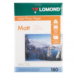 Фотобумага Lomond Ink Jet 180/A4/25 мат.одн. 0102037
