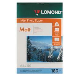 Фотобумага Lomond Ink Jet 180/A4/50 мат.одн. 0102014