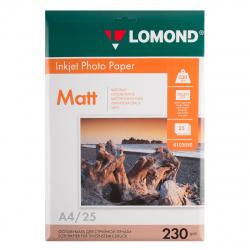 Фотобумага Lomond Ink Jet 230/A4/25 мат.одн. 0102050