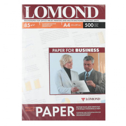 Фотобумага Lomond Ink Jet 85/A4/500 мат.двух. 0102134