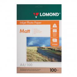 Фотобумага Lomond Ink Jet 100/A4/100 мат.двух. 0102002