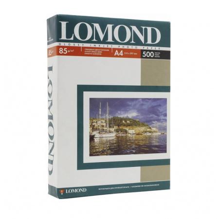 Фотобумага Lomond Ink Jet А4, 95г/кв.м., 500л, глянцевая 0102146