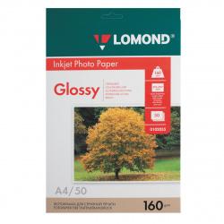 Фотобумага Lomond Ink Jet 160/A4/50 глянц. одн. 0102055