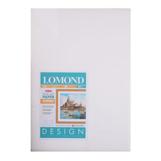 Фотобумага Lomond А3, 210г/кв.м, 10л, матовая, молоток 0916032