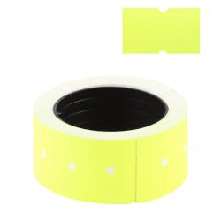 Этикет-лента 21*12мм, форма прямоугольная, 350шт, цвет ассорти Alingar AL350-190