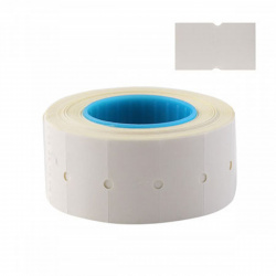 Этикет-лента 21*12мм, форма прямоугольная, 700шт, бумага, цвет белый Ligamarket НФ-00004213
