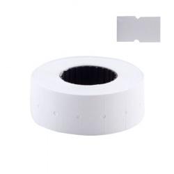 Этикет-лента 21*12 750шт белая прямоугольная