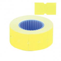 Этикет-лента 21*12 750шт желтая прямоугольная