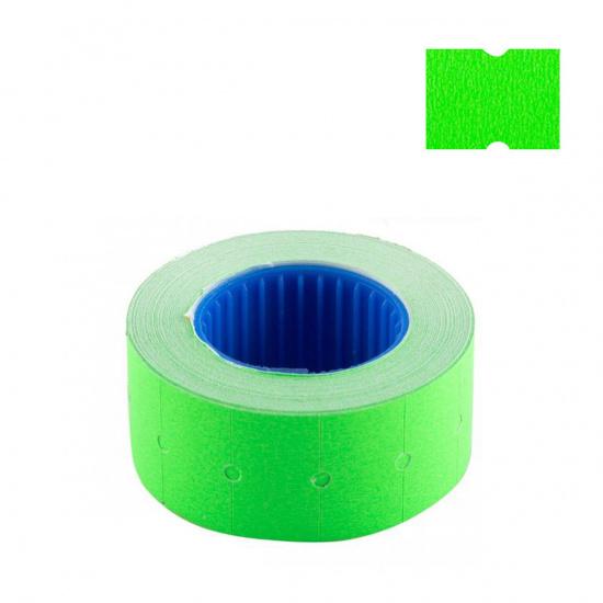 Этикет-лента 21*12мм, форма прямоугольная, 600шт, цвет зеленый deVENTE 2061714