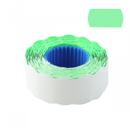 Этикет лента 22*12 800шт зеленая волна deVENTE 2061703