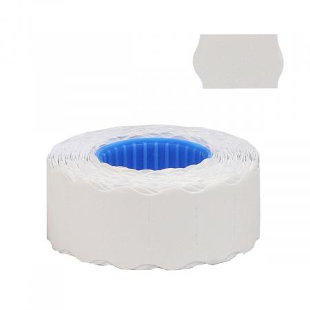Этикет-лента 26*12 800шт белая волна deVENTE 2061709