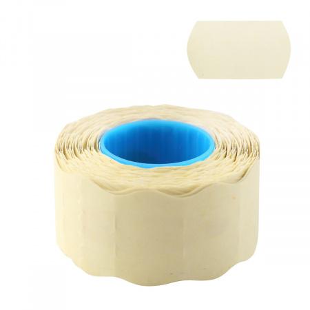 Этикет-лента 26*16 700шт белая волна