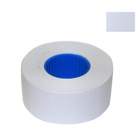 Этикет-лента 26*16мм, форма прямоугольная, 700шт, цвет белый Флекс-н-Ролл