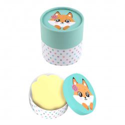 Блок для записей 7*7 700л в подарочной коробке deVENTE Cute Fox 2013001 пастельный желтый