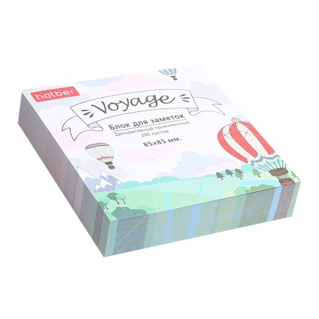 Блок для записей 8,5*8,5*1,8 куб склеенный Voyage Hatber MB_067438
