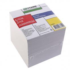 Блок для записей 8*8*8 куб белый Стамм БЗ04